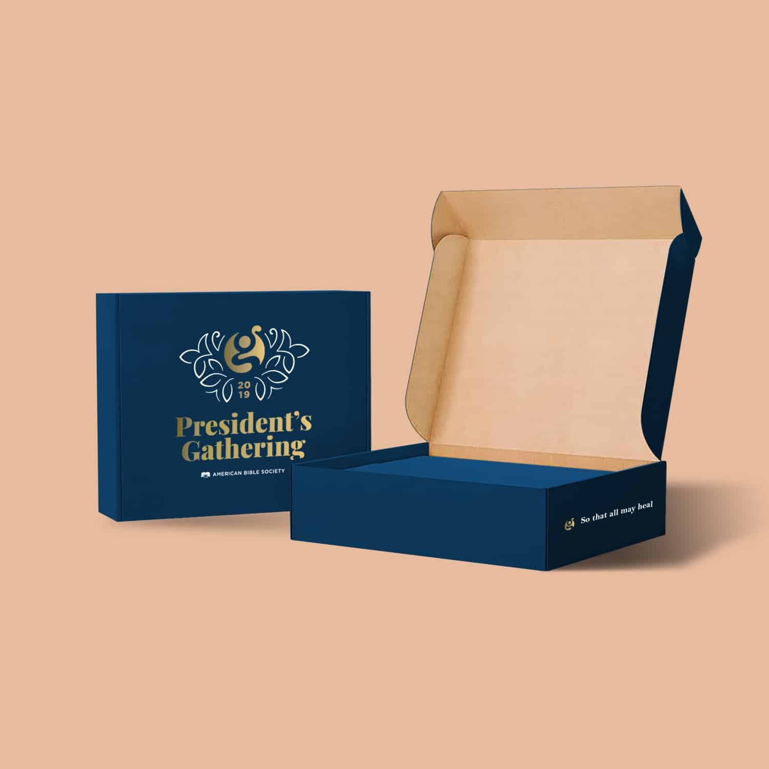 custom packaging with logo experience