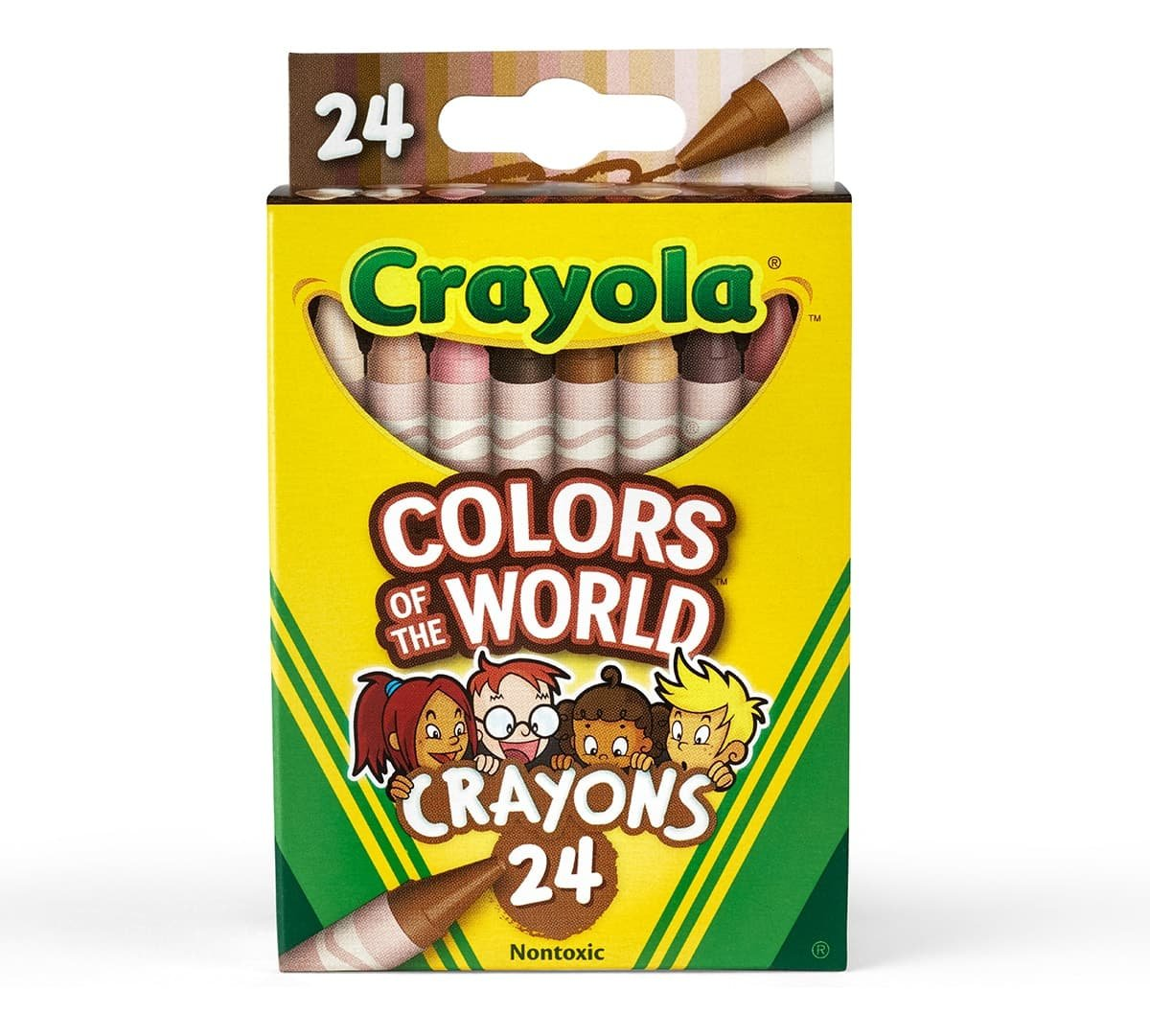 five-panel hanger tab boxes example crayons