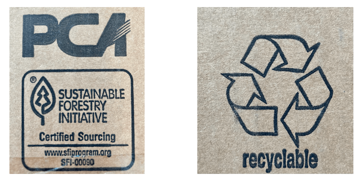 sustainable forestry initiative recyclable sourcing packaging